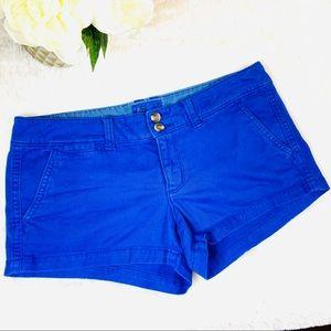 American Eagle Mini Cotton Stretch Chino Shorts